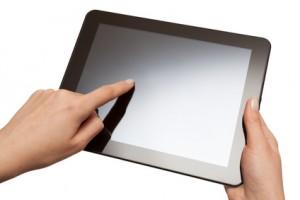 A tablet computer